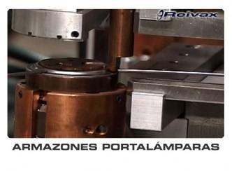 ARMAZONES PORTALAMPARAS - MAQUINAS FABRICACION ARMAZONES PORTALAMPARAS: Reivax Maquinas, SL