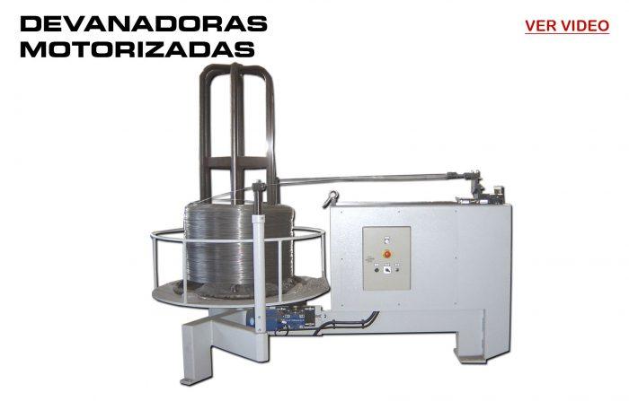 ReivaxMaquinas: Devanadoras Motorizadas para la Dosificación del Alambre.