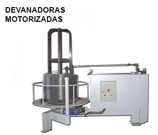 Reivax Maquinas, SL: Devanadoras motorizadas de alambre