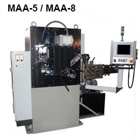 ReivaxMaquinas SL: MAA-5/MAA-8 Máquina para la fabricación de aros soldados.