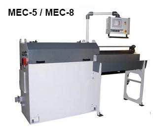 Reivax Maquinas, SL: MEC-5/MEC-8 Máquina para enderezar y cortar alambre.