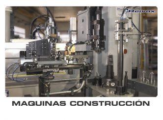 MAQUINAS PARA LA FABRICACION DE PIEZAS PARA LA CONSTRUCCIÓN: Reivax Maquinas, SL