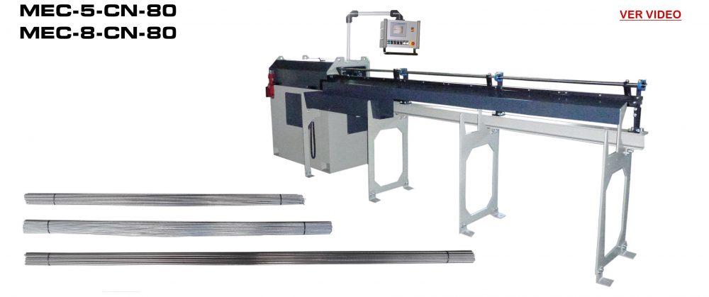 Maquinas Enderezar y Cortar: MEC-5-CN-80 / MEC-8-5-CN-80 Video