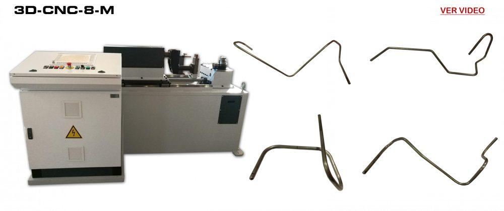 Dobladora a CNC: 3D-CNC-8-M Video