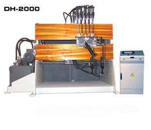 ReivaxMaquinas: DH-2000 Máquina para la fabricación de piezas de alambre con utillajes.