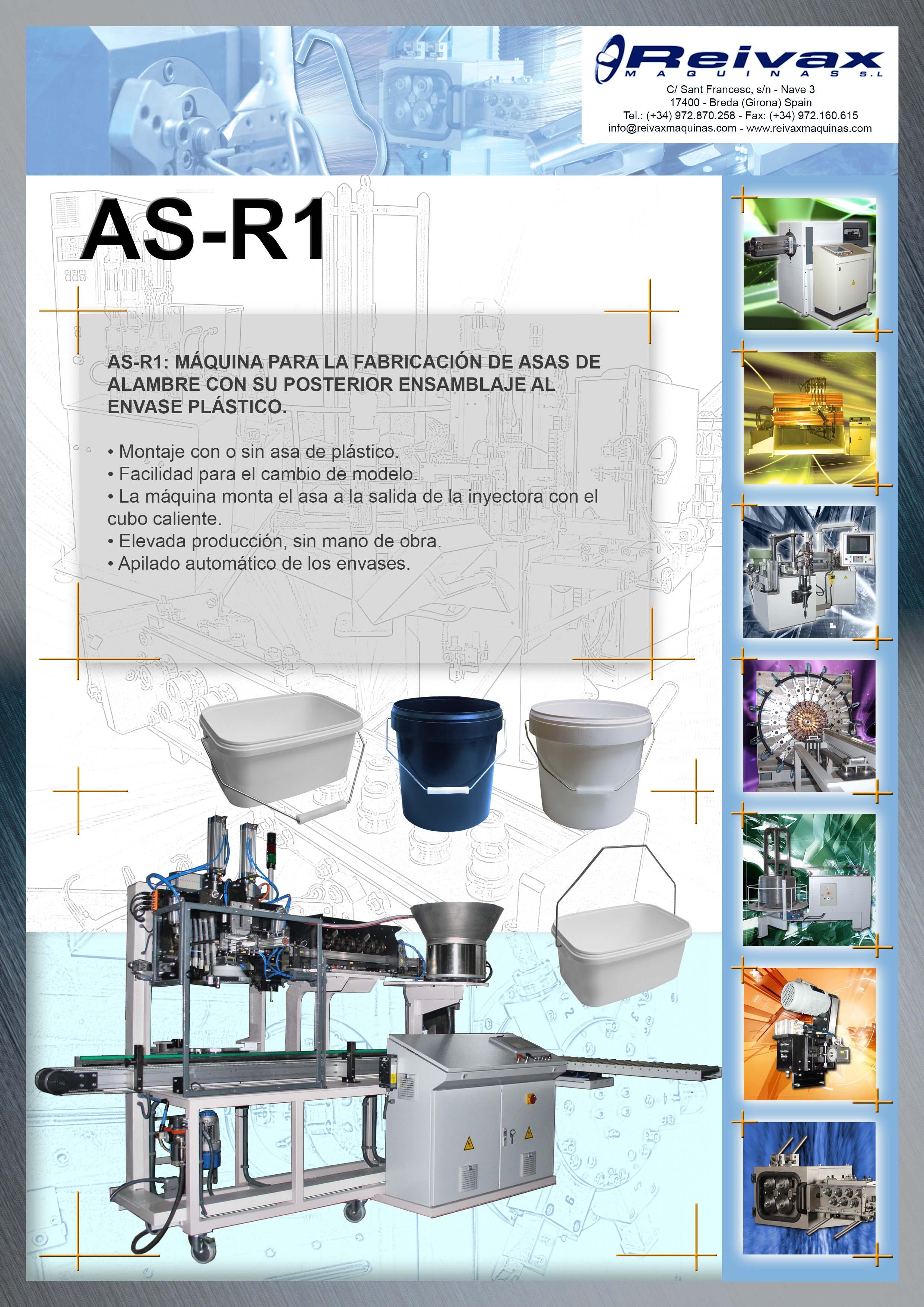ReivaxMaquinas: Ficha Tecnica AS-R1