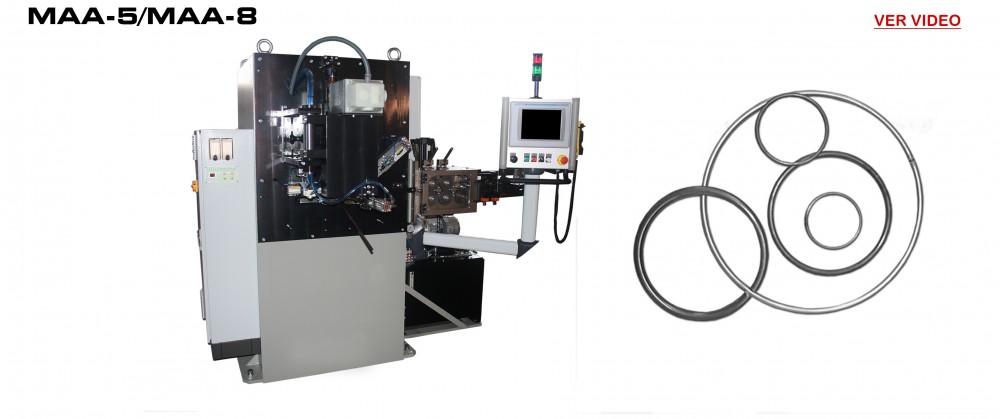 Maquinas Fabricación Aros: MAA-5/MAA-8