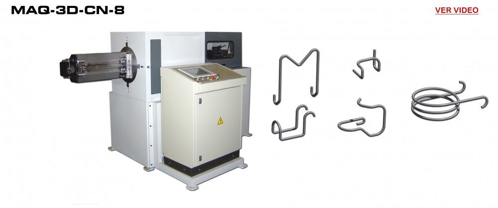 Dobladora a CN: MAQ-3D-CN-8