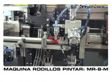 MAQUINA RODILLOS DE PINTAR: MR-8-M VIDEO