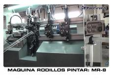 MAQUINAS RODILLOS PINTAR: MR-8 VIDEO