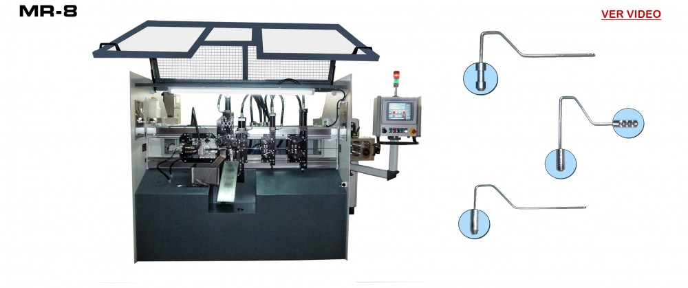 Maquinas fabricacion Rodillos de Pintar: MR-8