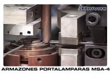 MAQUINAS ARMAZONES PORTALAMPARAS: MSA-4