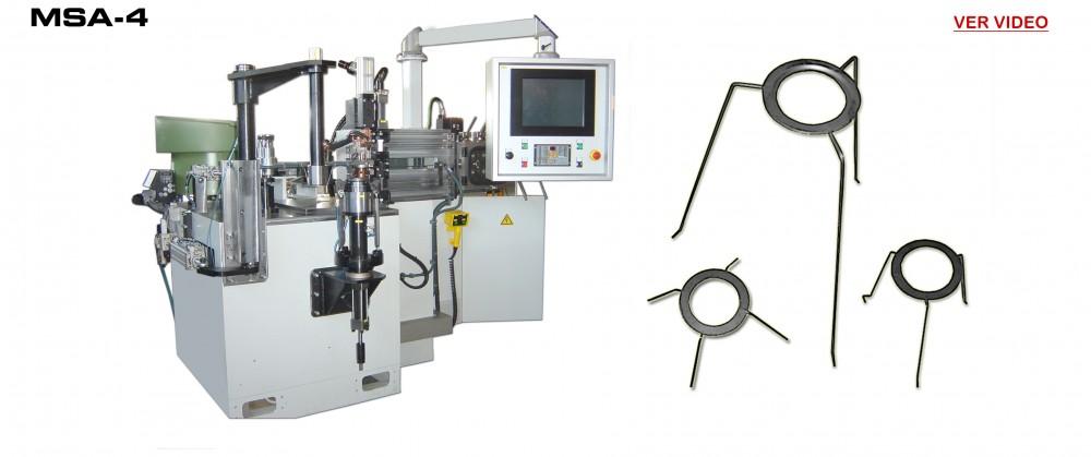 Maquina Fabricación Armazones Portalamparas: MSA-4
