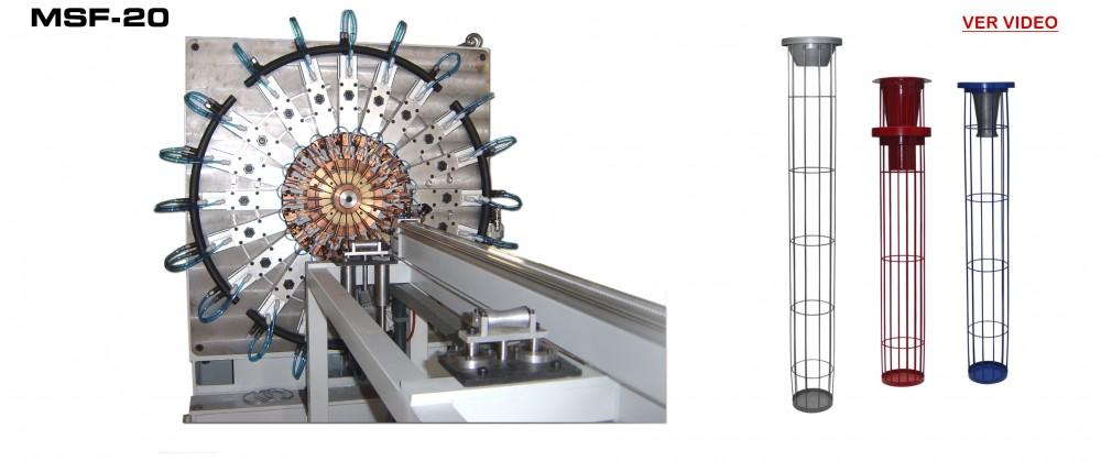 Maquinas Fabricacion Filtros: MSF-20 Video