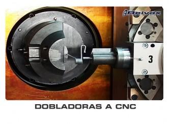 DOBLADORAS A CNC - MAQUINAS DOBLADORAS A CNC: Reivax Maquinas, SL