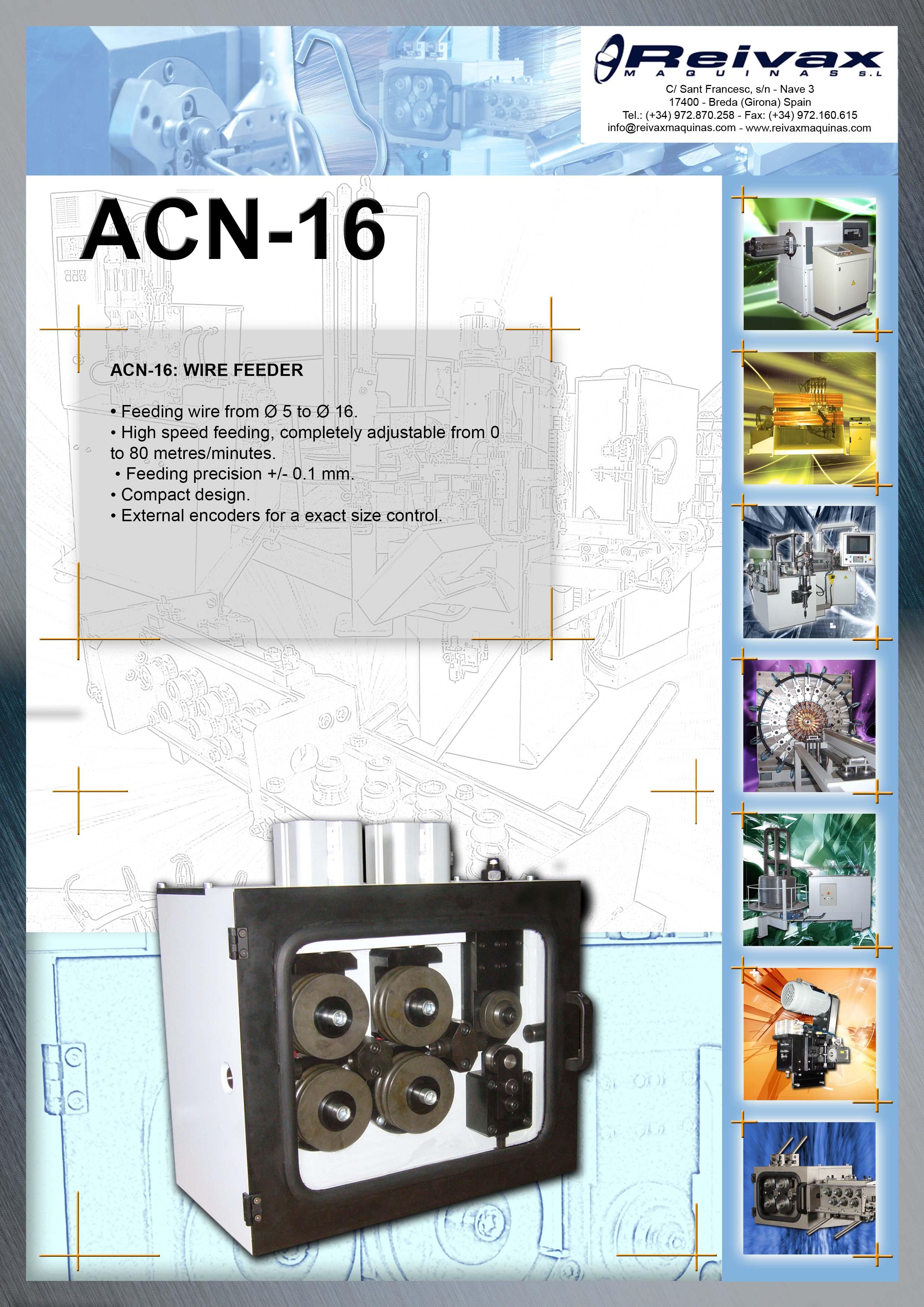 ReivaxMaquinas: Technical Details ACN-16