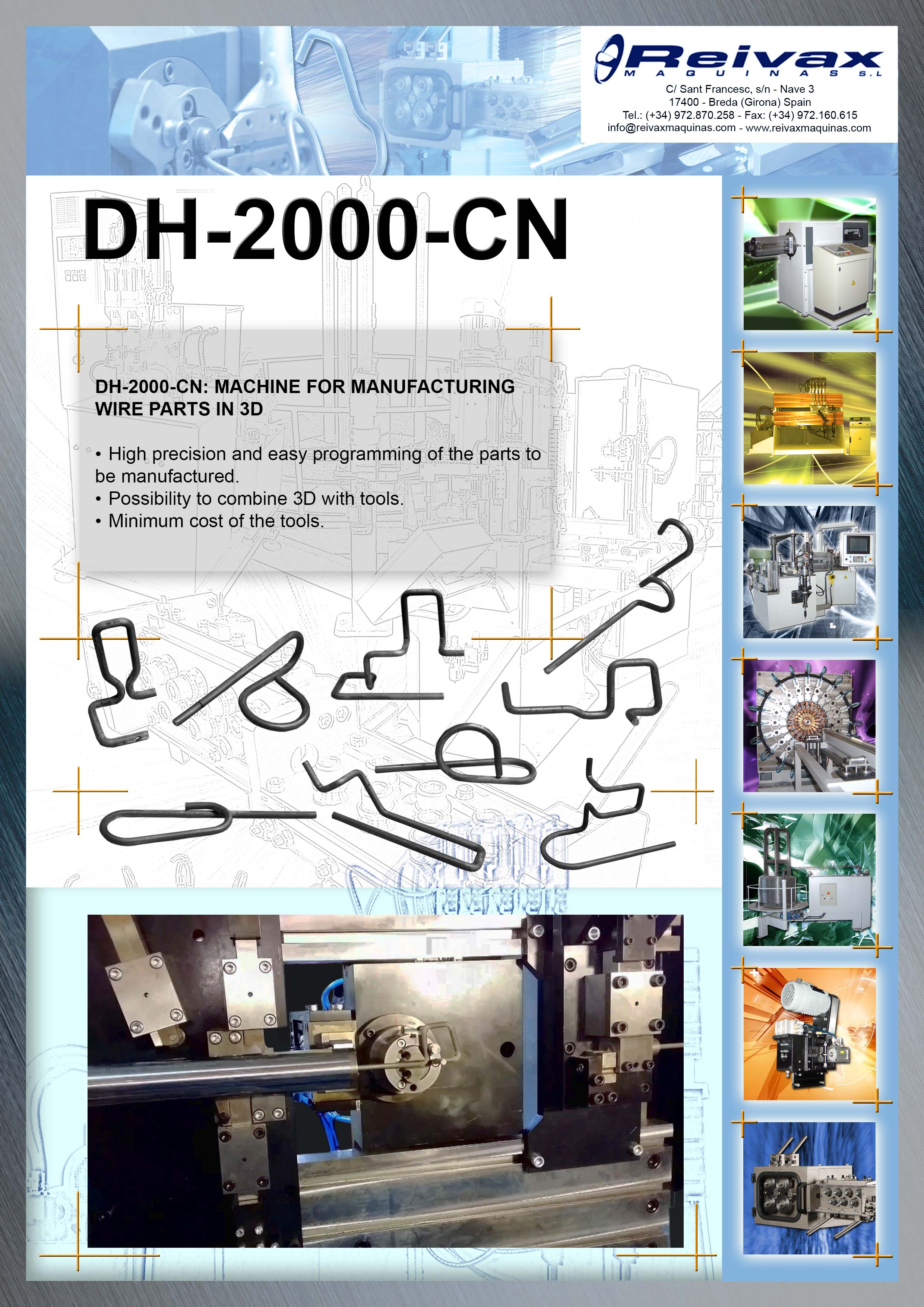 ReivaxMaquinas: Technical Details DH-2000-CN