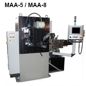 ReivaxMaquinas SL: MAA-5/MAA-8 Machine for manufacturing wire rings.