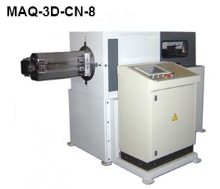 ReivaxMaquinas SL: MAQ-3D-CN-8 Machine with CN for manufacturing wire parts.