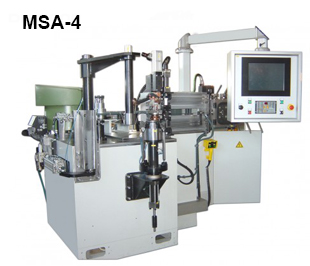 Reivax Maquinas, SL: MSA-4 Automatic Machine for Manufacturing Lampshade Frames.