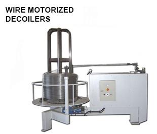 Reivax maquinas, SL: WIRE MOTORIZED DECOILERS