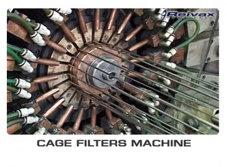 CAGE FILTER MACHINES - MACHINES FOR MANUFACTURING WELDING FILTERS: Reivax Maquinas, SL