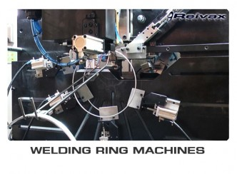 RING WELDING MACHINES - MACHINES FOR MANUFACTURING RINGS: Reivax Maquinas, SL