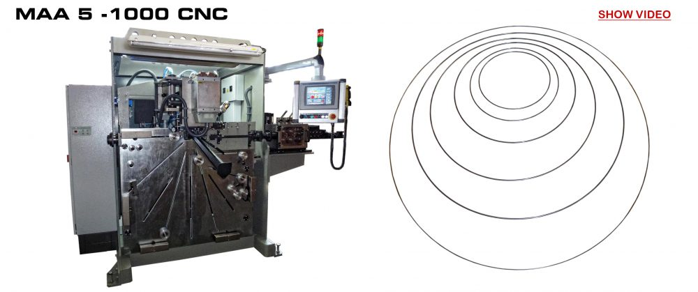 Welding Ring Machine: MAA 5 - 1000 CNC