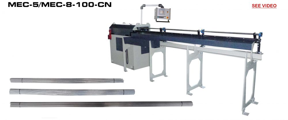 Straightening and Cutting Machines: MEC-5/MEC-8-100-CN