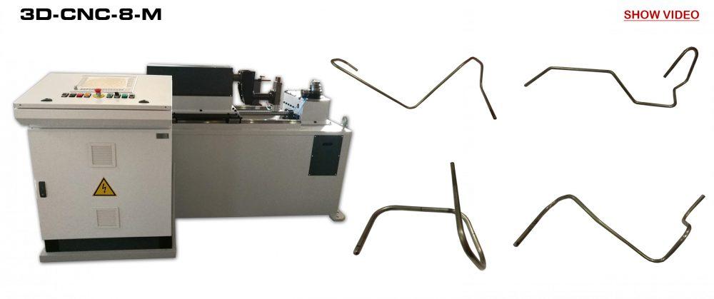Bending Machines to CNC: 3D-CNC-8-M Video