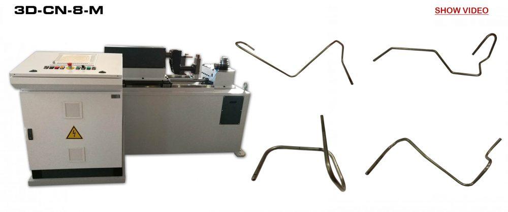 BENDING MACHINES TO CN: Machine Ref.: 3D-CN-8-M - VIDEO