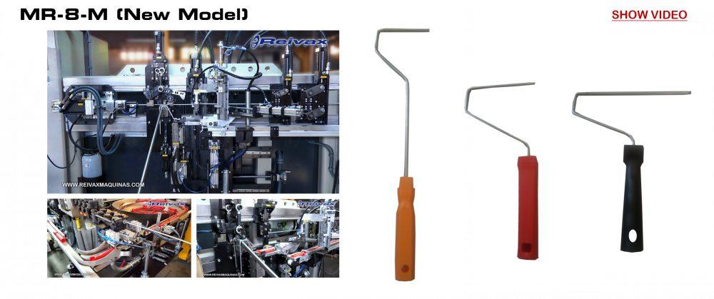 Paint Roller Machines: Reivax Maquinas; SL MR-8-M (New Model) Video