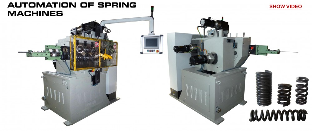 Bending Machines to CN: AUTOMATION OF SPRING MACHINES