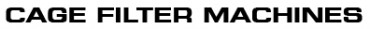CAGE FILTER MACHINES: Reivax Maquinas, SL