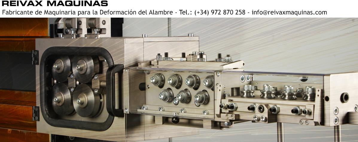 ReivaxMaquinas, SL: Fabricante de Maquinaria para la Deformaci�n del Alambre