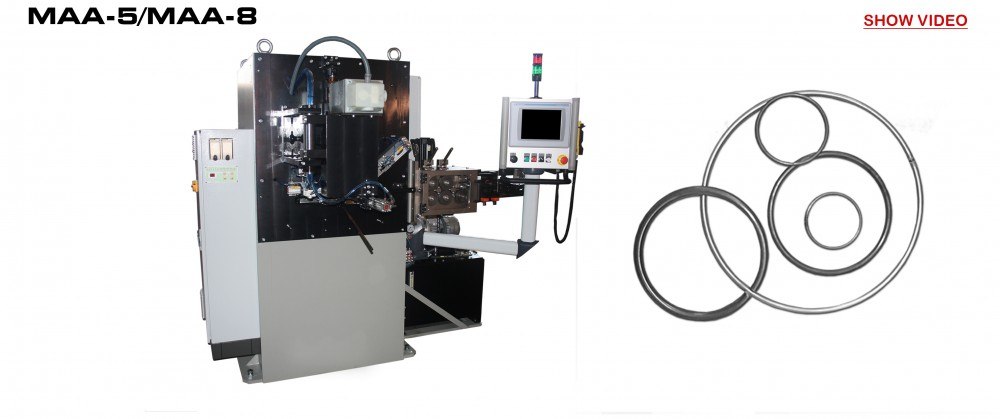 RING WELDING MACHINES MAA-5 / MAA-8: Reivax Maquinas, SL Video
