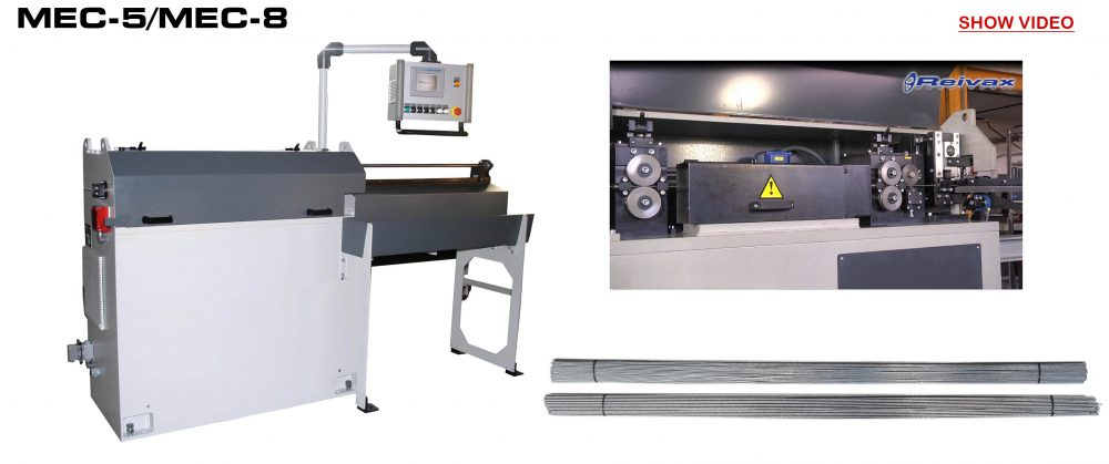 Straightening and Cutting Machines: MEC-5/MEC-8