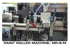 PAINT ROLLER MACHINE MR-8-M: Reivax Maquinas, SL Video