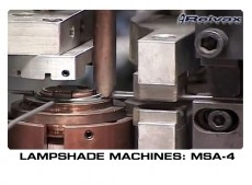 LAMPSHADE MACHINES MSA-4 : Reivax Maquinas, SL Video