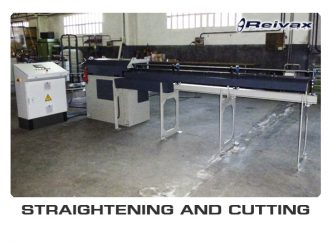 STRAIGHTENING AND CUTTING MACHINES: Reivax Maquinas, SL