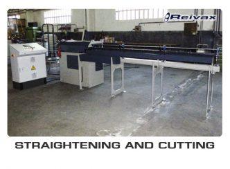 STRAIGHTENING AND CUTTING MACHINES: Reivax Maquinas, SL