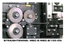 STRAIGHTENING AND CUTTING MACHINE MEC-5-MEC-8-100-CN: Reivax Maquinas, SL Video
