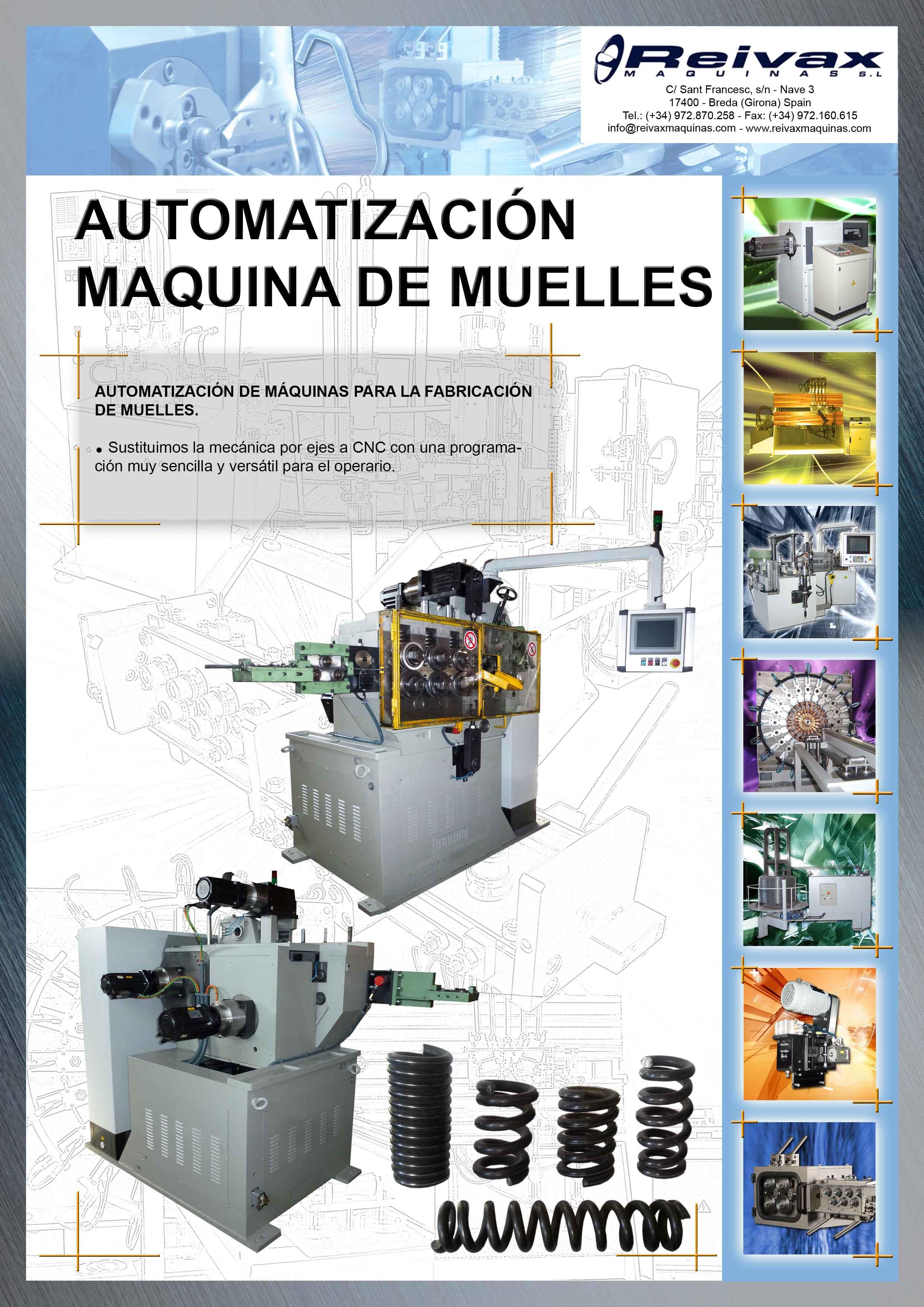 ReivaxMaquinas: Ficha Automatizacion Maquina de Muelles