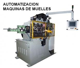 ReivaxMaquinas SL: Automatizacion maquina de muelles