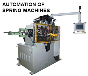 ReivaxMaquinas SL: Automation machines for springs manufacturing.