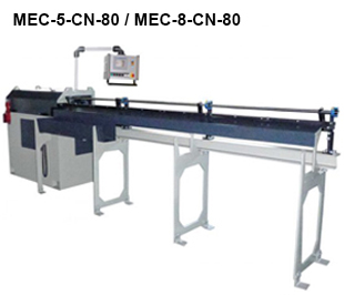 Reivax Maquinas SL: MEC-5-CN-80 y MEC-8-CN-80 Maquina de enderezar y cortar a CN.