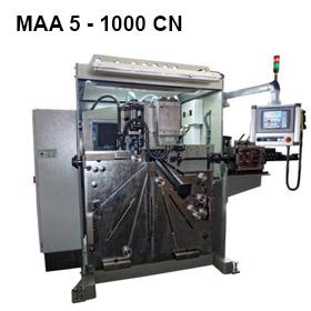 ReivaxMaquinas SL: MAA 5 - 1000 CN Maquina para la fabricacion de aros soldados hasta 1 metro.