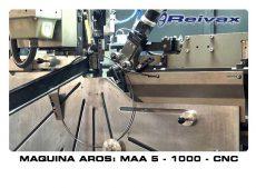 MAQUINA AROS SOLDADOS: MAA 5 - 1000 - CNC
