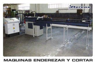 MAQUINAS ENDEREZAR Y CORTAR: Reivax Maquinas, SL