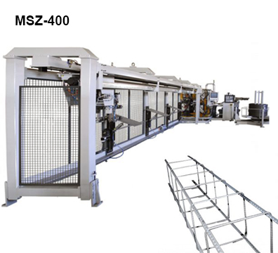 Reivax Maquinas, SL: MSZ-400 Machine for Manufacturing Frameworks for Construction.